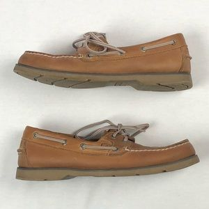 Sperry top 2 eye leather men's 8.5